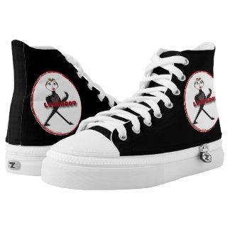 High Top Shoes LOVERBOY CIRCLE LOGO Printed Shoes