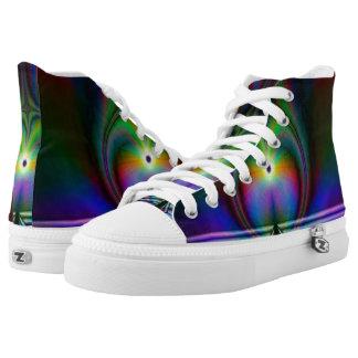 High Top ZIPZ® Fractal Shoes