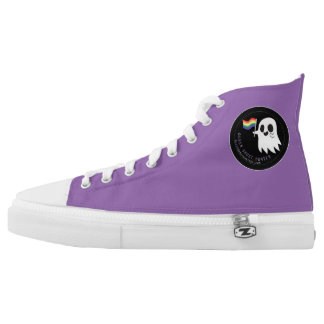 High Tops Printed Shoes