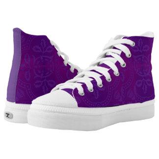High tops purple designer converse Sneakers