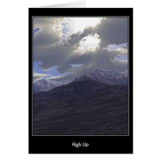 High Up Card