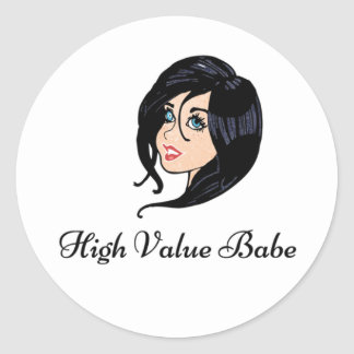 High Value Babe Stickers