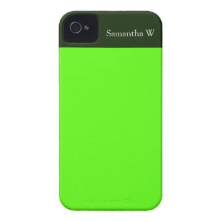 High Visibility Neon Green iPhone 4 Cover