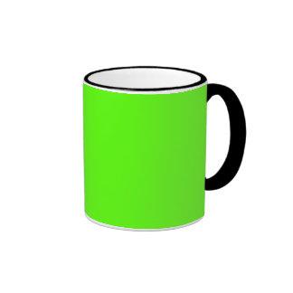 High Visibility Neon Green Mug