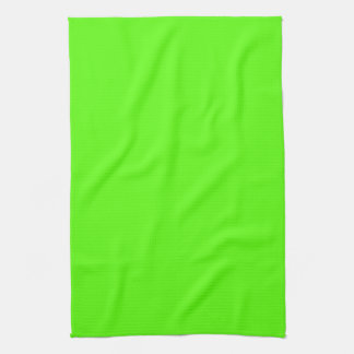 High Visibility Neon Green Towel