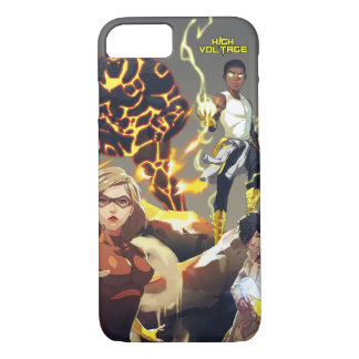 High Voltage Heroes iPhone 7 Case