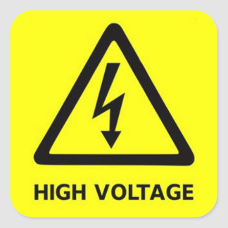 high voltage png stickers