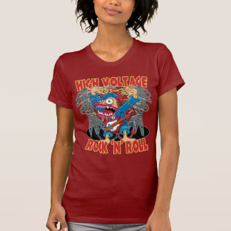 High Voltage Rock N Roll T Shirts