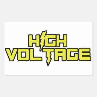 High Voltage Stickers