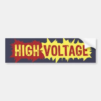 High Voltage The Bumper Sticker