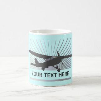 High Wing Aircraft Basic White Mug