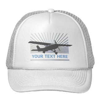 High Wing Aircraft Cap