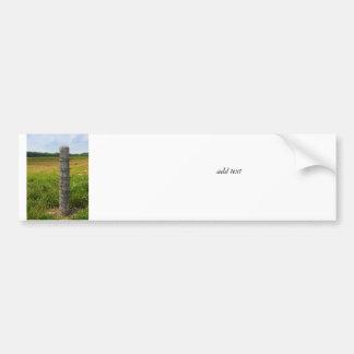 High Wired Post Bumper Sticker