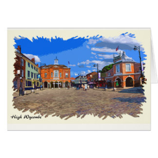 High Wycombe Artwork Greeting Card