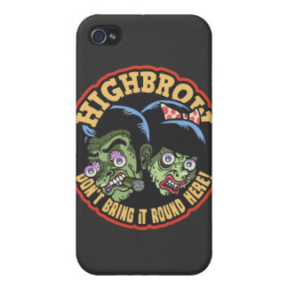 Highbrow iPhone 4 Covers