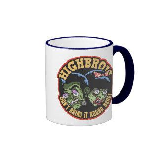 Highbrow Ringer Mug