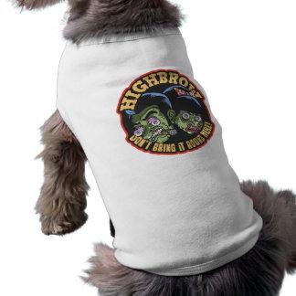 Highbrow Sleeveless Dog Shirt