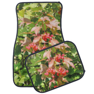 Highbush Cranberries Car Mat
