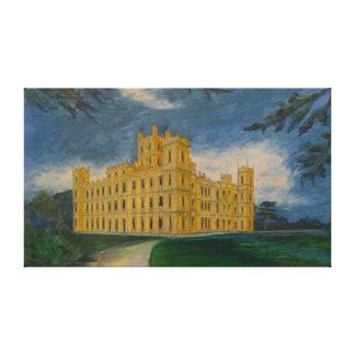 Highclere Castle Canvas Print