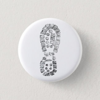 Highcountryhiker's Hiking Boot (logo) 3 Cm Round Badge