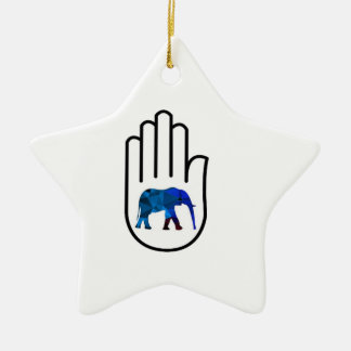 Higher Enlightenment Ceramic Ornament