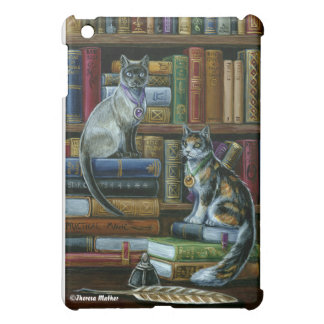 Higher Learning Library Cats iPad Case