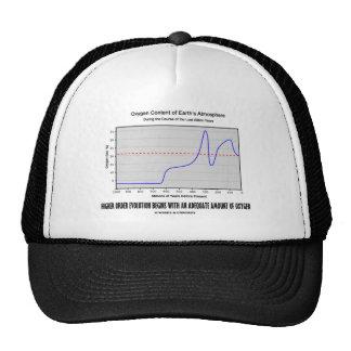 Higher Order Evolution Begins Adequate Amt Oxygen Trucker Hat
