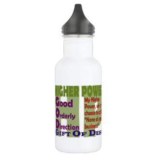 Higher Power Slogans 532 Ml Water Bottle
