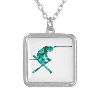 Higher Space Silver Plated Necklace