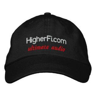 HigherFi.com, ultimate audio Embroidered Cap
