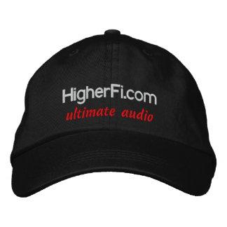 HigherFi.com, ultimate audio Embroidered Cap