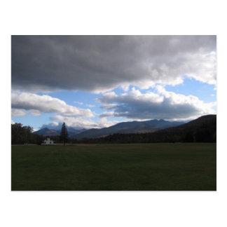 highest mountains postcard