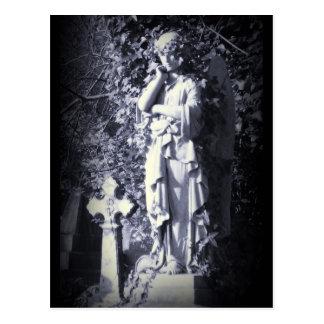 Highgate Cemetery Angel Goth Fantasy Post Cards