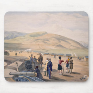 Highland Brigade Camp, plate from 'The Seat of War Mouse Pad