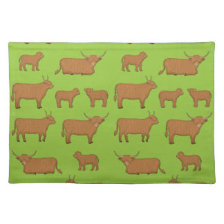 Highland Cattle Placemat