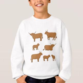 Highland Cattle Sweatshirt
