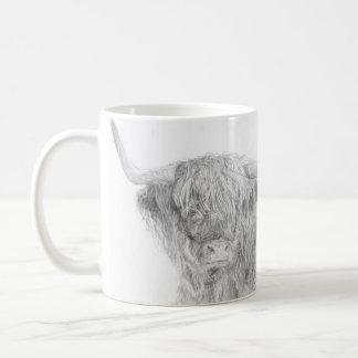"""""""Highland Coo"""" Mug"""