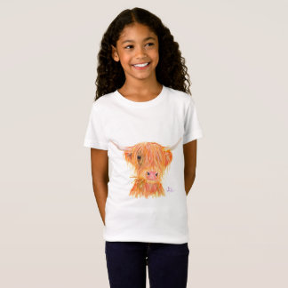 Highland Cow 'Fergus' T-Shirt