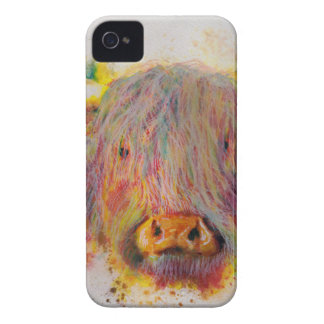Highland Cow iPhone 4 Cover