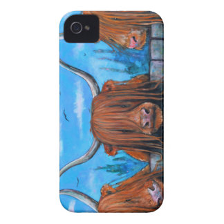 Highland cow phone cover! iPhone 4 cover