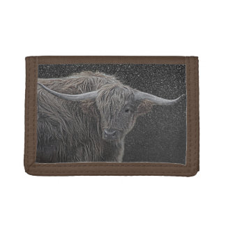 Highland cow photograph wallet