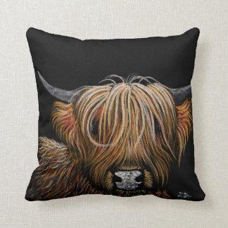Highland Cow Pillow  'Hamish' Throw Pillow Cushion