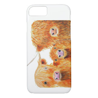 Highland Cow ' We 3 Coos ' Iphone and Galaxy Cases