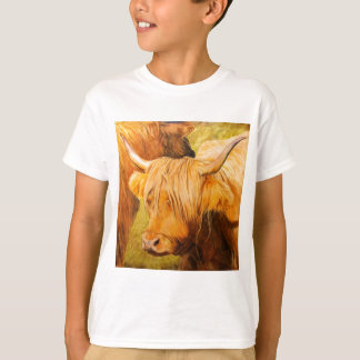 Highland cows, scottish cattle T-Shirt