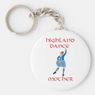 Highland Dance Mother - Teal Key Ring
