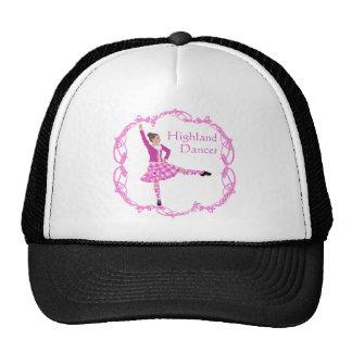 Highland Dancer Pink Aboyne Trucker Hats