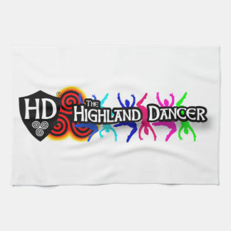 Highland Dancer Tea Towel