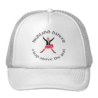 Highland Dancers a Leap Above the Rest Mesh Hat