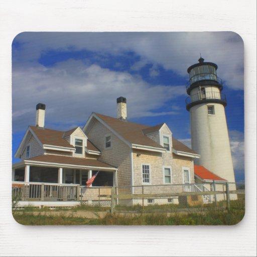 Highland Lighthouse Truro Cape Cod Mousepad