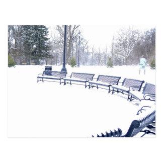 Highland Park in Winter Postcard